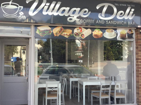 Sparks delivers the goods to The Village Deli in North Weald.