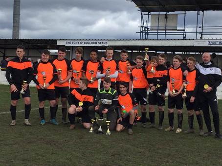 Our under 18's K/O Cup Winners! 2018-2019