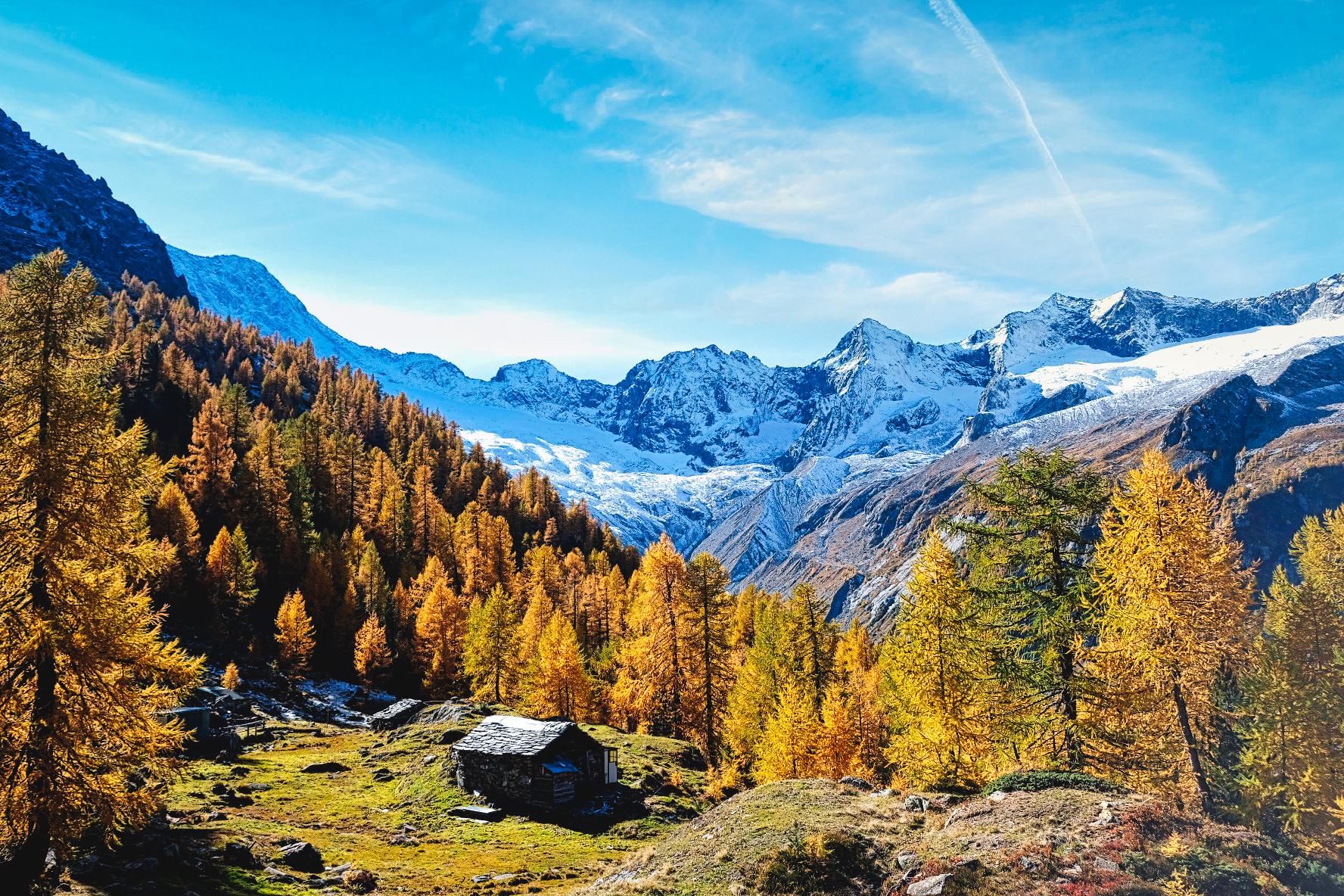 Alpe Sentieri autunno