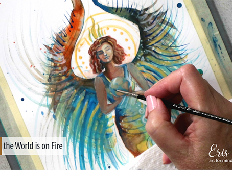 An Angel Painting per Day