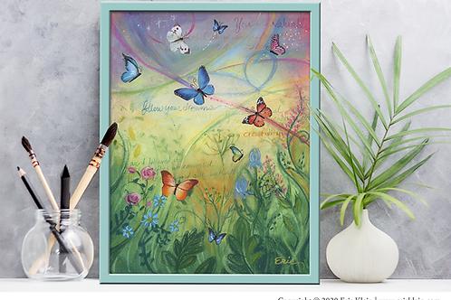 Butterfly Garden | Print