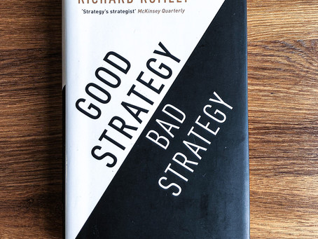 """Good Strategy Bad Strategy"" - 3 centrale indsigter"