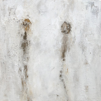 not available - Paint 100 x100 cm Acrylic, Ash, Natural pigments