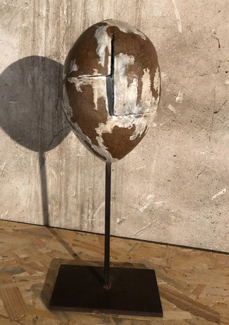 Terre cuite émaillée 54 cm haut