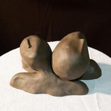 Sculpture deux pièces amovibles.