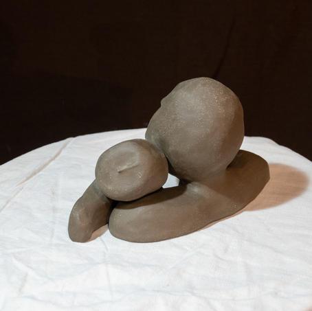 Sculpture deux pièces amovibles