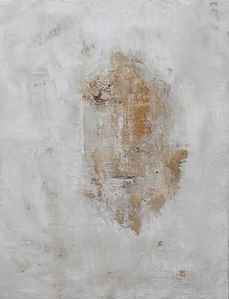 Paint 89 x116 cm Acrylic, Ash, Natural pigments