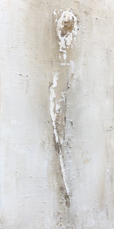 not available - Paint 50 x100 cm Acrylic, Ash, Natural pigments