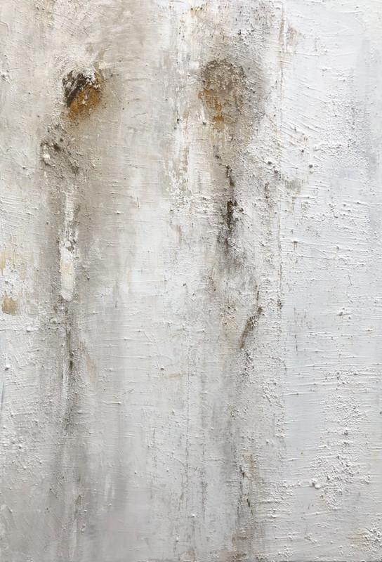 Paint 81 x116 cm Acrylic, Ash, Natural pigments