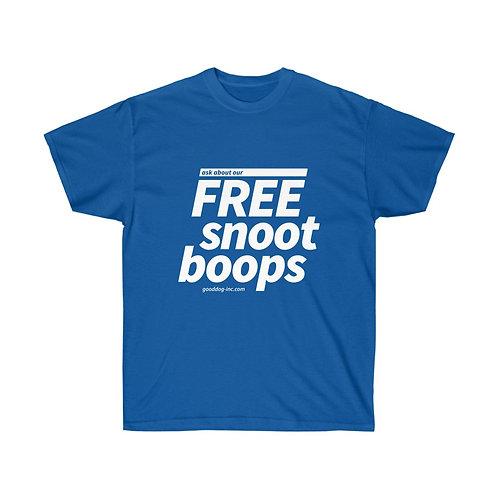 Free Snoot Boops Unisex Tshirt