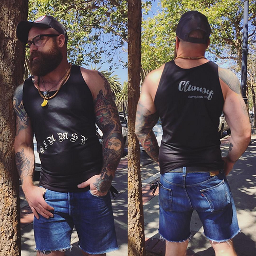 Clumsy Pride Tank Top by Clumsy Shirts