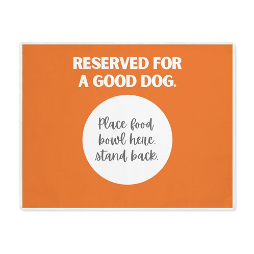 Reserved Placemat