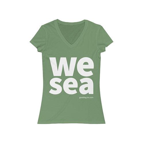 WeSea Women's V-Neck Tee