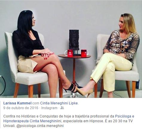 Entrevista Histórias e Conquistas