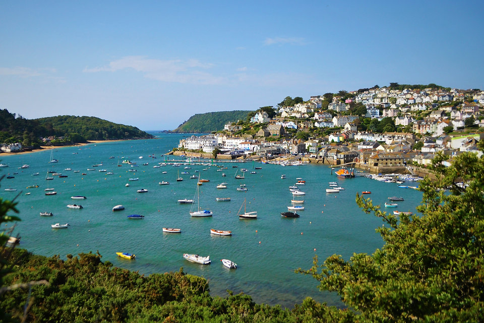 A view of the Devon town of Salcombe..jp