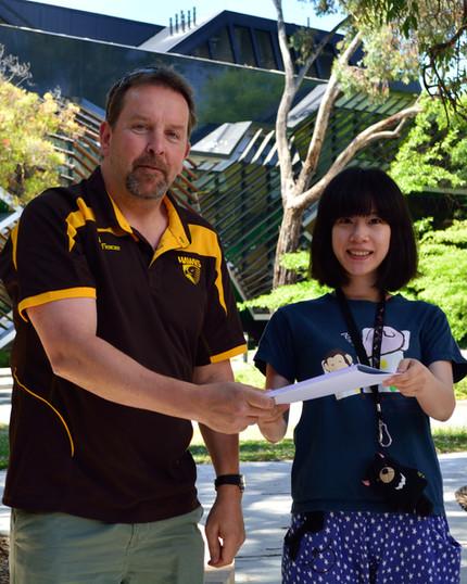 Shao-Yu Lin wins Hiroto Naora Award