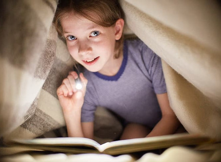 Ten fun tips for reading and book-related activities for the school holidays.