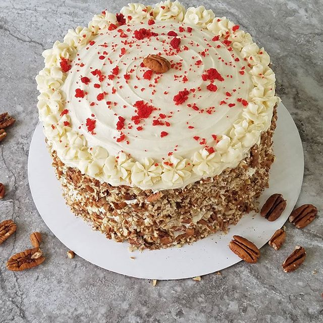 Red Velvet with pecans