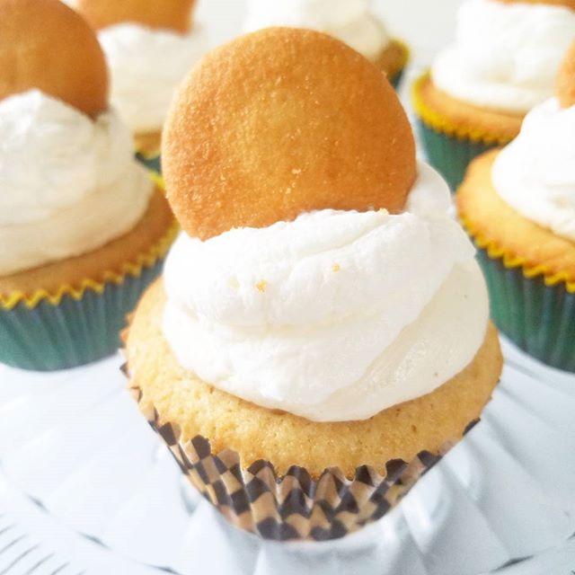 Banana Pudding Cupcake!!! Don't be foole
