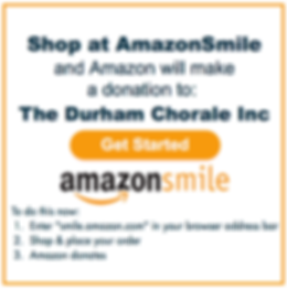 Link to AmazonSmile donations for the Durham Community Chorale