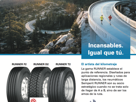 Semperit y Lucy's Tire España juntos sirviendo al transporte en Galicia