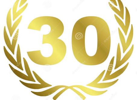 Congratulations Season 24 Top 30 Point Leaders