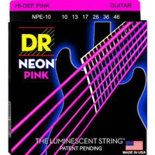 DR Electric Guitar Strings  NEON (NPE-10)