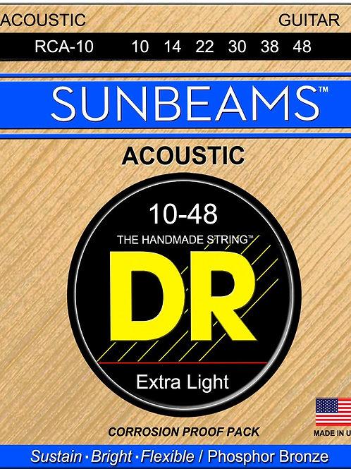 DR Acoustic Guitar Strings SUNBEAMS
