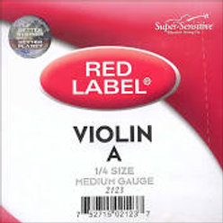 Super Sensitive Red Label Violin A String 4/4