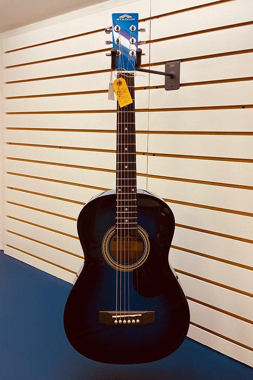 Stadium Child Size Acoustic Guitar - 3/4 Blue