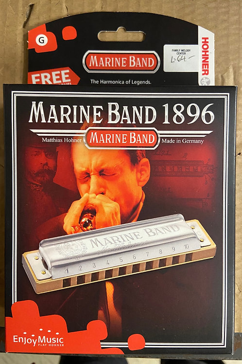 Hohner Marine Band Harmonica ~ Key of G