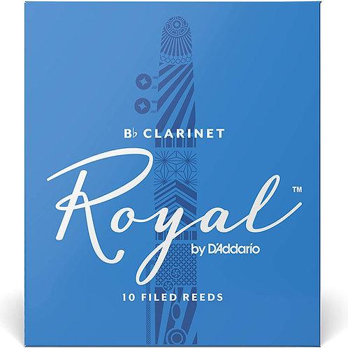Bb Clarinet Royal by D'Addario (10 Pack)