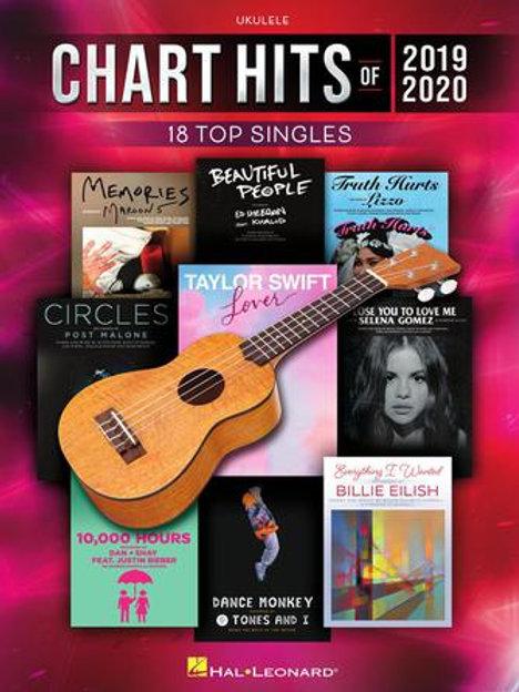 Ukulele: Chart Hits of 2019 - 2020 (Hal Leonard)
