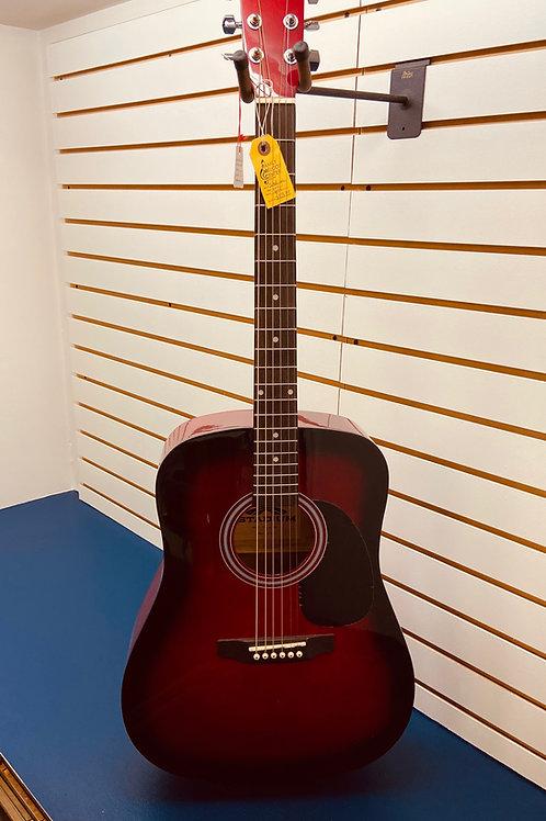 Stadium Acoustic Guitar Red