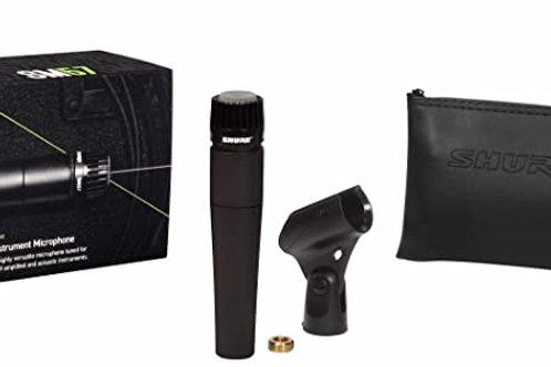 Shure SM57-LC Cardioid Dynamic Microphone - Black