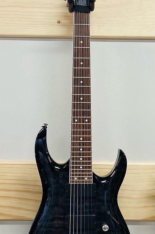 Ibanez GRG 7 String Solid-Body Electric Guitar, Transparent Black Sunburst