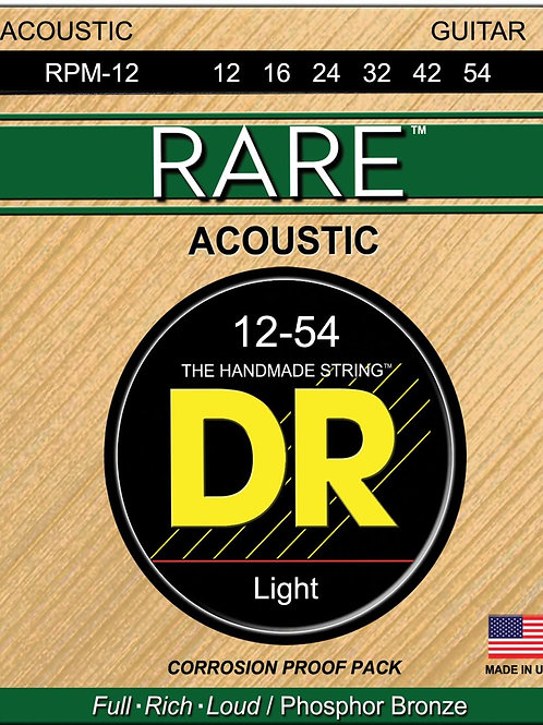 DR Acoustic Guitar Strings RARE