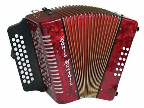 Santa Marsala Button Accordion