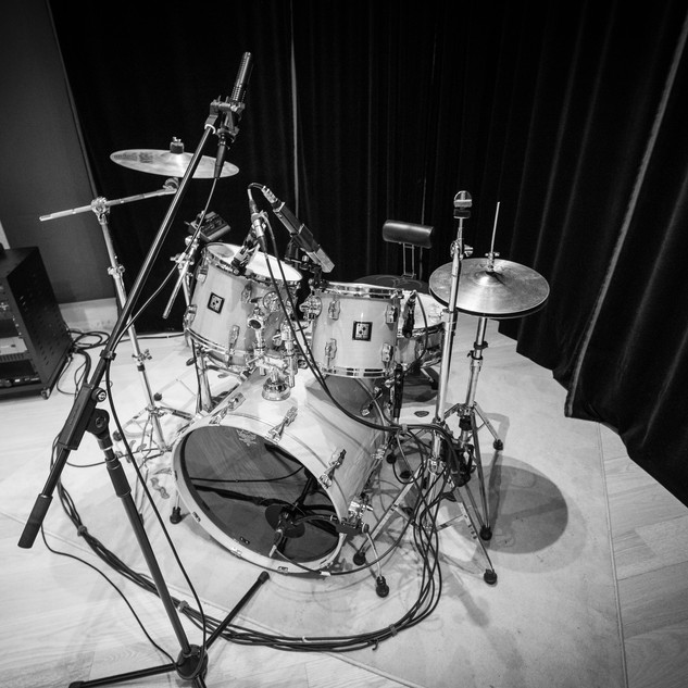 Drums, mics & Focusrite