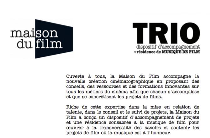 Très honoré d'être sélectionné parmi les 6 lauréats de la maison du film de Paris pour le concou