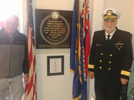 Merchant Marines Honored at St. Paul's