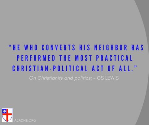 On Christianity and politics_ CS Lewis -