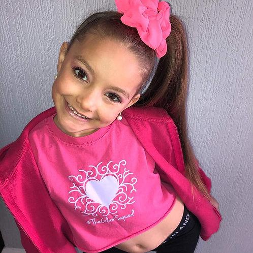 RJ Barbie Crop Pink TShirt