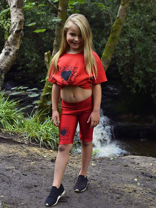 Red RA-DI-ANCE Tshirt