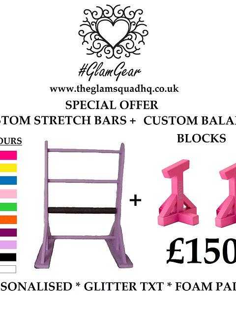 SPECIAL OFFER Bars + Blocks
