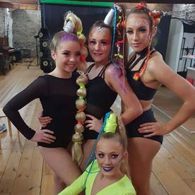 Behind the scenes 📸🎬 Glam Squad Photos
