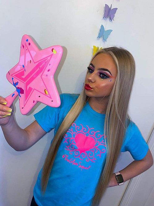 Frankie Barbie x Glam Blue/Pink Top