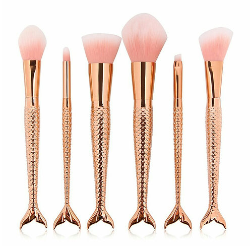 Rose Gold Mermaid Tail Gift Set
