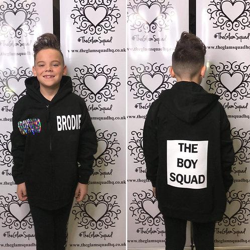 Boy Squad Black Zip Hoodie