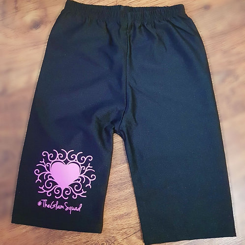 Barbie Collection Black Cycling Shorts
